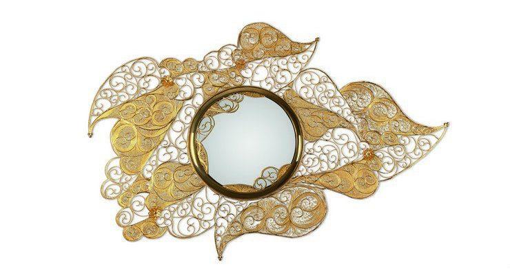 filigree filigree mirror The art behind Filigree Mirror by Boca do Lobo filigree mirror 01