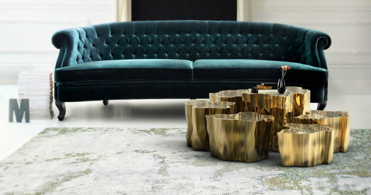 Brass trend in your decoration