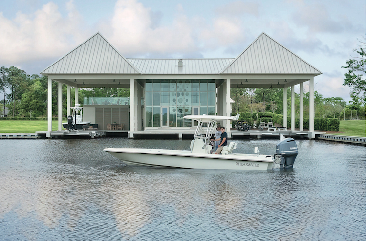 Outstanding Glass Boathouse by Tara Shaw Design Tara Shaw Design Outstanding Glass Boathouse by Tara Shaw Design Boathouse 1