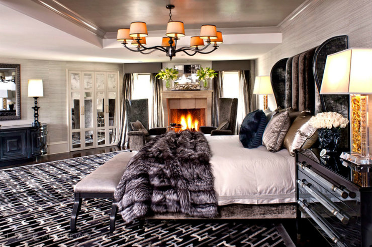 bedroom ideas 30 Bedroom Ideas from 30 celebrities 0 kris jenner home