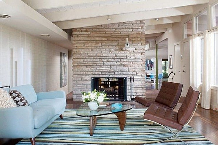 50 Stunning Living Rooms in Blue Home And Decoration