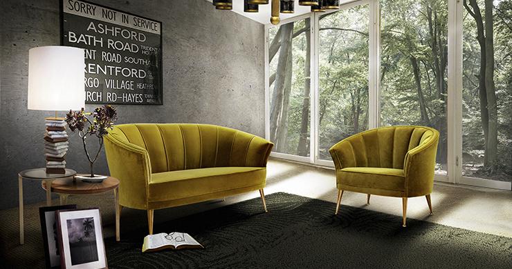 TOP 5 Modern Interior Design Inspirations:Amazing Living Room Sets