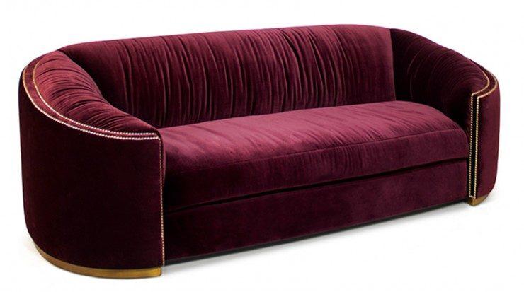 velvet sofas velvet sofas 2017 trend for living room: 5 velvet sofas 1 velvet sofas wales sofa BB 740x413