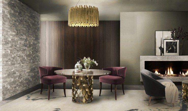 stylish dining rooms stylish dining rooms 50 amazing stylish dining rooms BB Dining Room 3 740x436