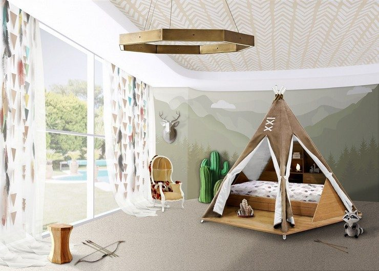 luxury furniture for your dreamy bedroom Stunning luxury furniture for your dreamy bedroom teepee room ambience circu magical furniture 01 740x529