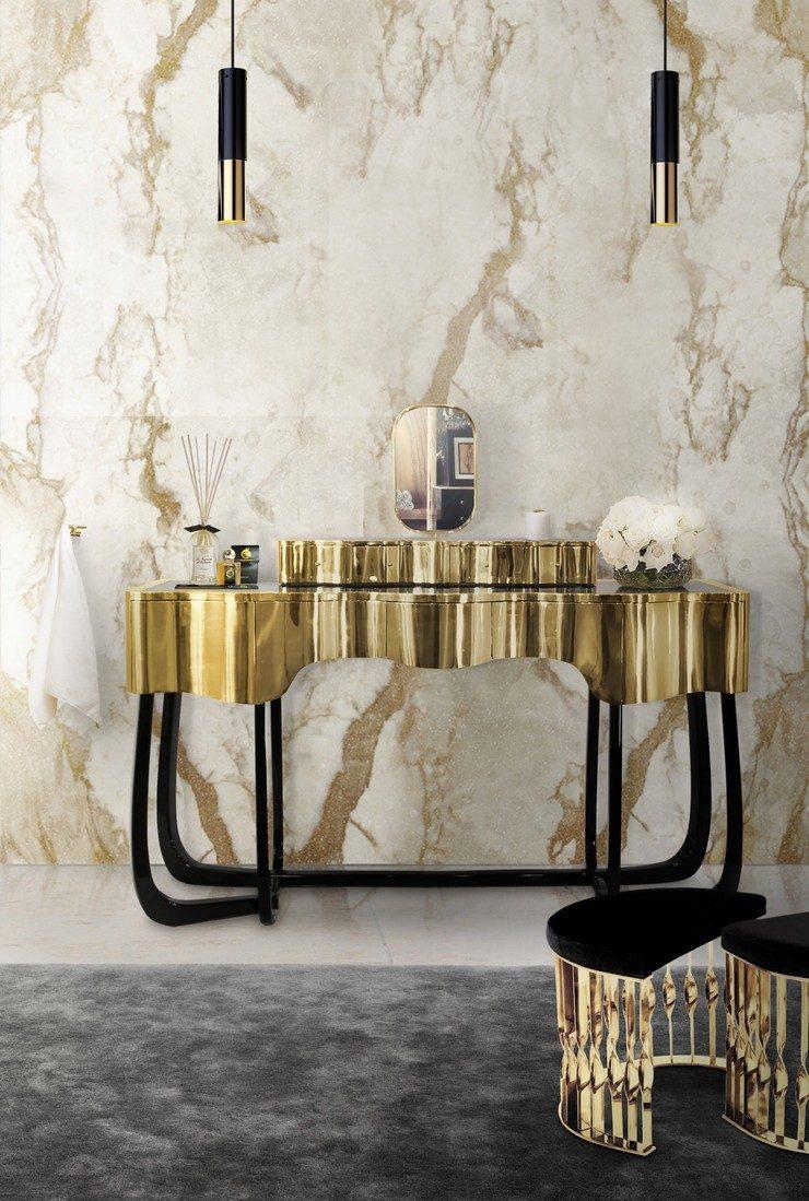 stools in your decoration Stools in your Decoration How to Include Stools in your Decoration 11 sinuous dressing table mandy stool diamond bathtub maison valentina 1 HR