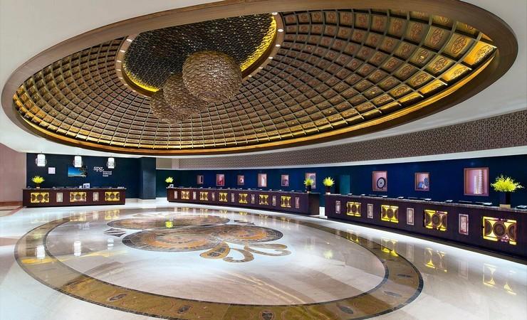 Sheraton Cotai, Macau top interior designers Texas Top Interior Designers: Design Duncan Miller Ullmann Lobby 1 SheratonCotai Macau