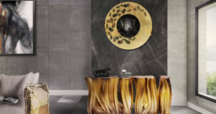 luxury interiors Luxury Interiors with Gilded Pieces of Furniture COVER 5