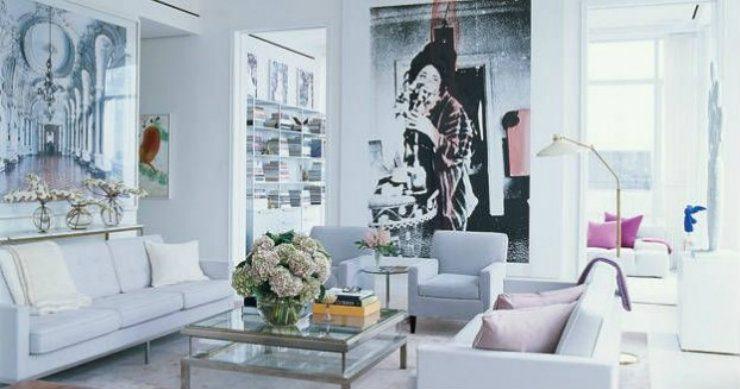 Peek inside the homes of Fashion Designers