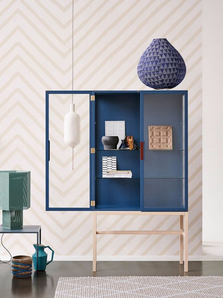 luxury interiors Navy Blue Sideboards and Cabinets For Luxury Interiors Navy Blue Buffets and Cabinets for This Spring 6