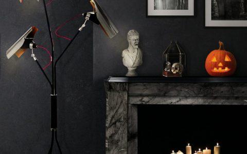 Spooktacular Halloween Home Decor Ideas for 2017 Spooktacular Halloween Home Decor Ideas for 2017 mantel 1 480x300