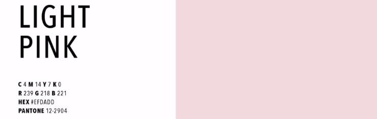 color trends 2018 color trends 2018 Color Trends 2018: Light Pink Trends Forecast 2018 1 1