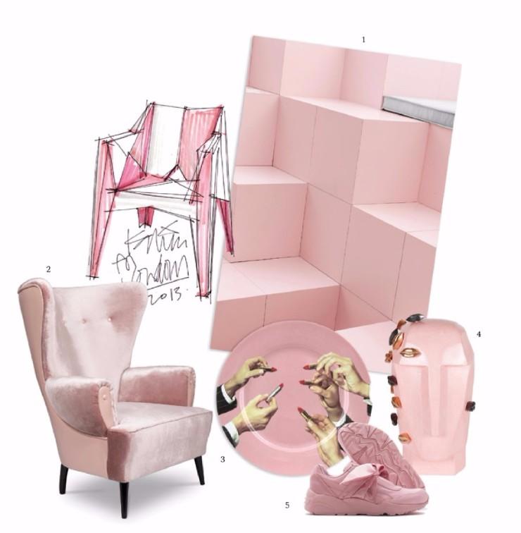 Color Trending Pink: Color Trends 2018: Light Pink