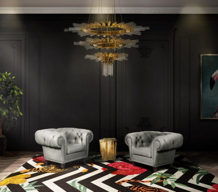 Living Room Design Ideas Trendy And Mysterious Dark Interiors Home And Decoration