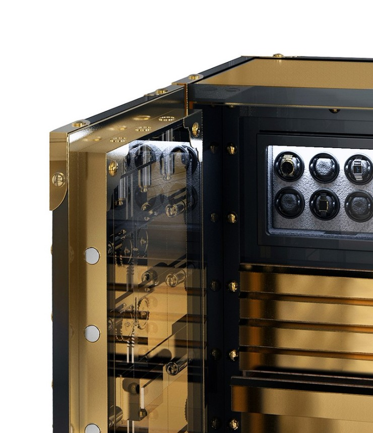luxury safe Be Dazzled by Boca do Lobo Knox Luxury Safe Be Stunned by the Exclusivity of Boca do Lobos Knox Luxury Safes 3