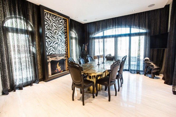 limited edition dining table Discover Fortuna, a Limited Edition Dining Table B Fortuna dining table Boca do Lobo interior design Saadiyat UAE Archi living resize