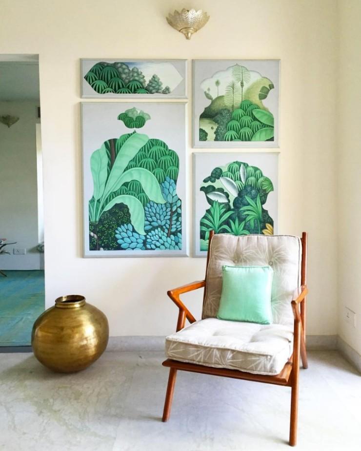 tropical prints Tropical Prints: the New Interior Design Trend Interior Design Trends 2018 Tropical Prints 1