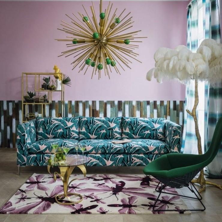 tropical prints Tropical Prints: the New Interior Design Trend Interior Design Trends 2018 Tropical Prints 14