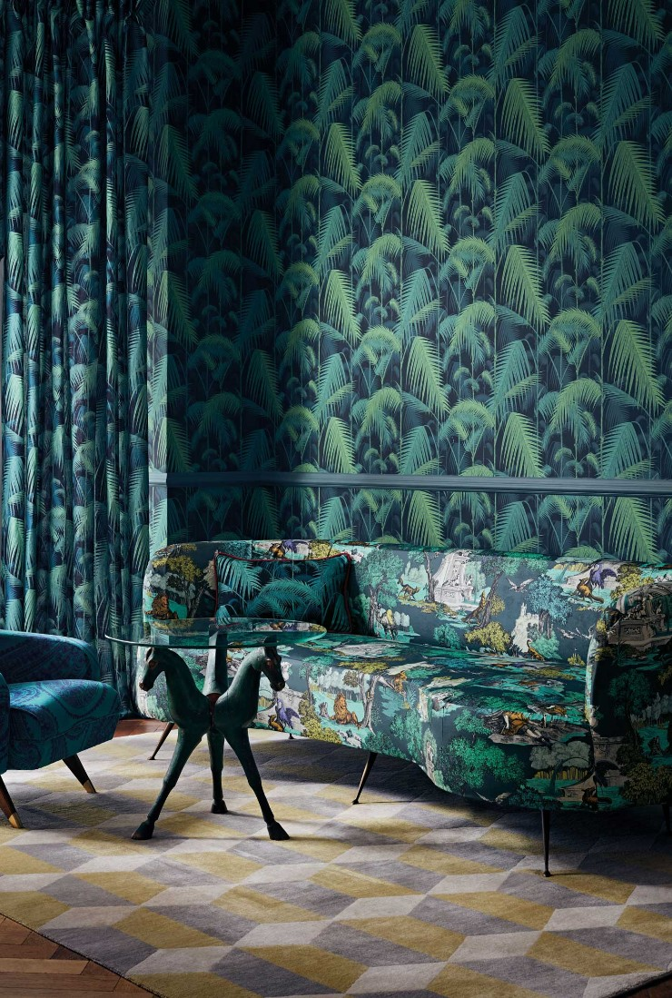 tropical prints Tropical Prints: the New Interior Design Trend Interior Design Trends 2018 Tropical Prints 2