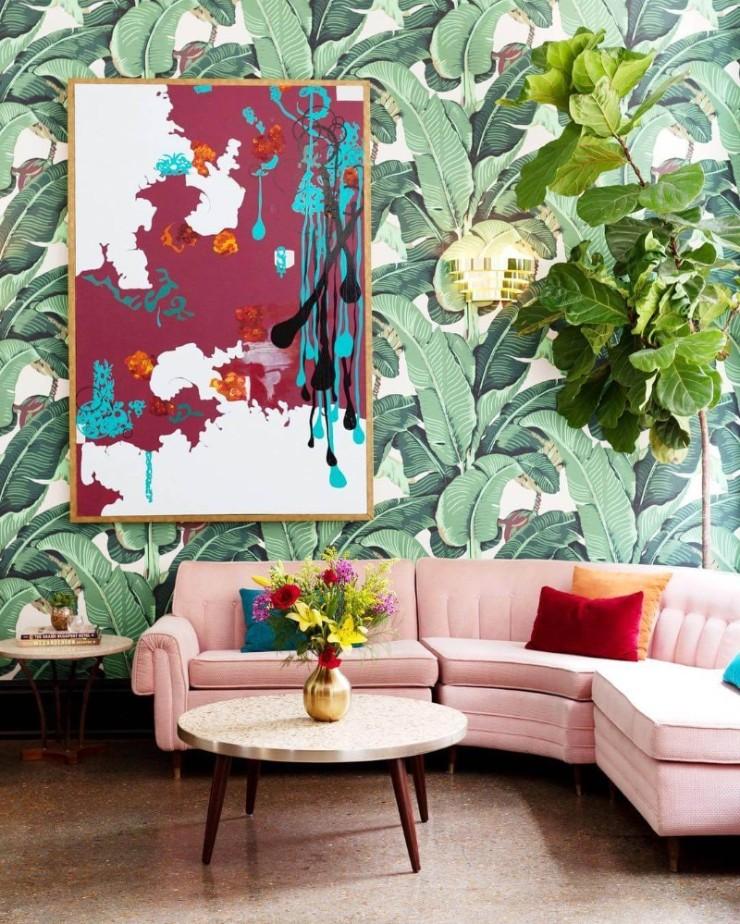 tropical prints Tropical Prints: the New Interior Design Trend Interior Design Trends 2018 Tropical Prints 25