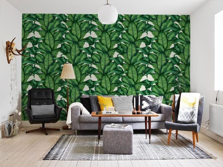tropical prints Tropical Prints: the New Interior Design Trend Interior Design Trends 2018 Tropical Prints 28