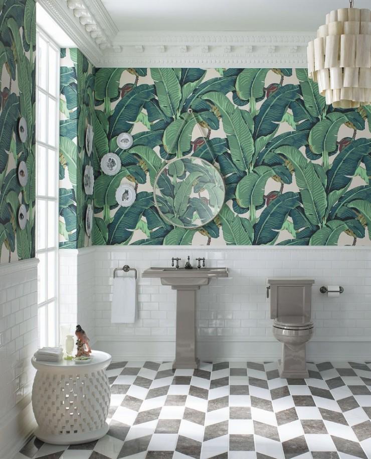 tropical prints Tropical Prints: the New Interior Design Trend Interior Design Trends 2018 Tropical Prints 4