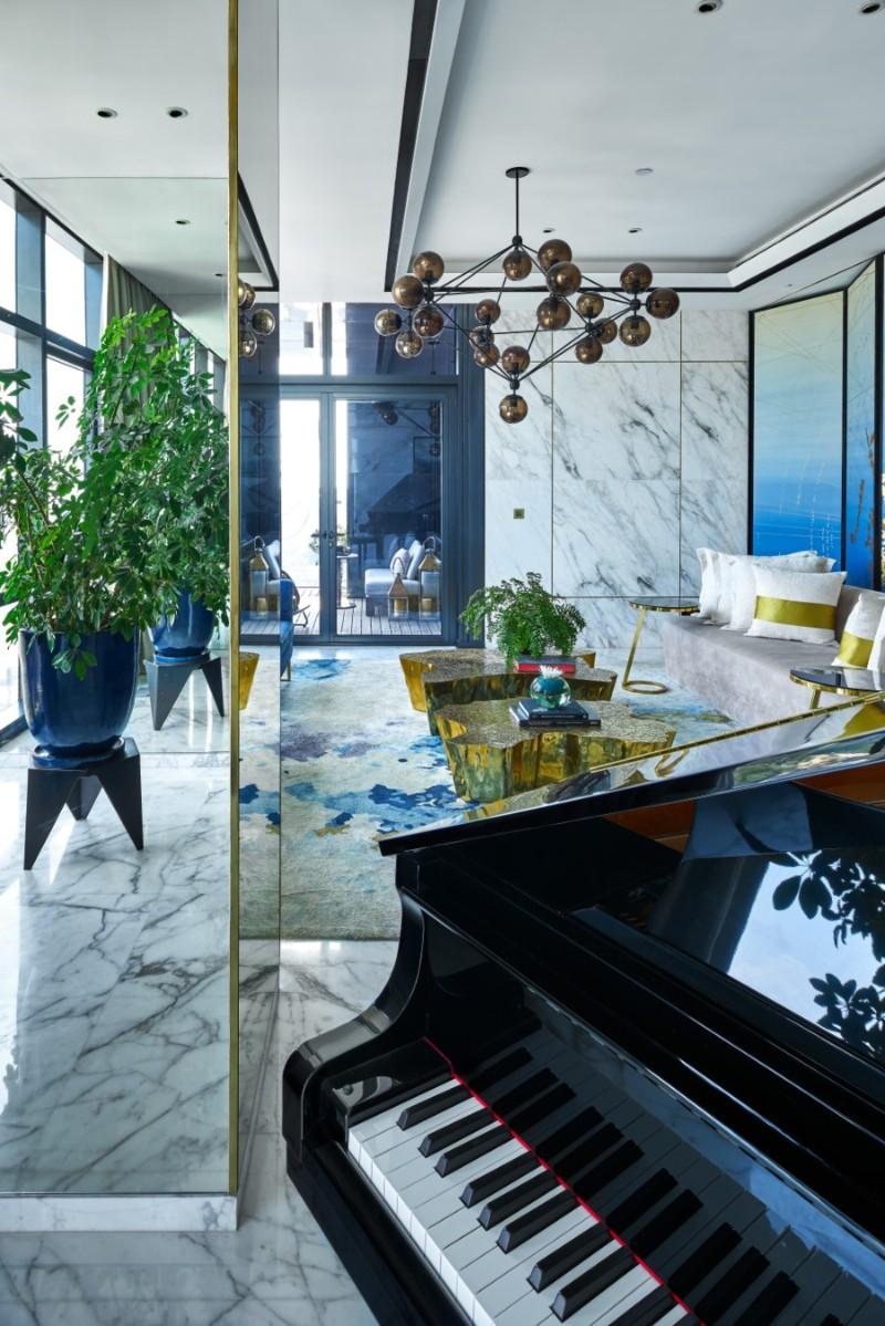 hirsch bedner associates Discover the Altamount Residence by Hirsch Bedner Associates Inside Altamount Residence by Hirsch Bedner Associates 33