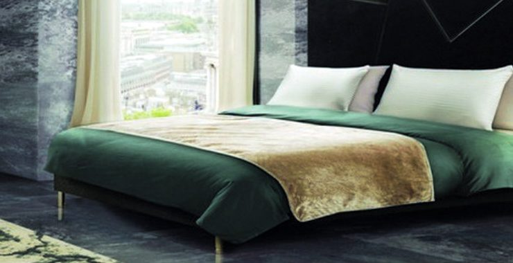 bedroom decors Watch 2019 Color Trends In These 7 Bedroom Decors bed main 740x380