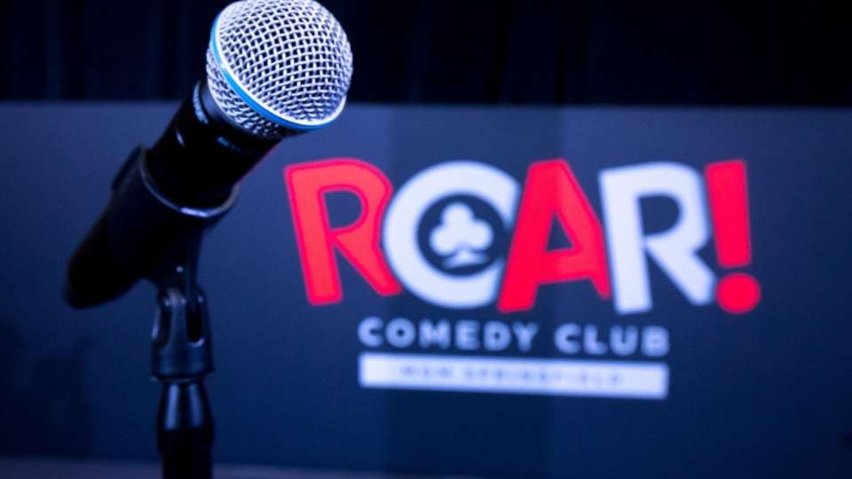 the best in lodging The best in lodging: Meet MGM Resorts! mgm springfield roar comedy club roar logo with mic