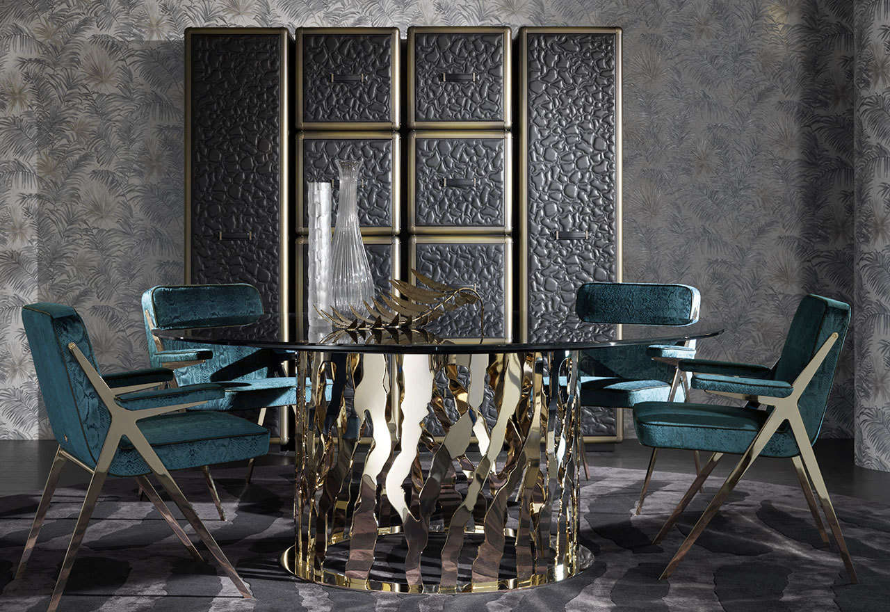 BEDROOM INTERIOR DESIGN, BEST INTERIOR DESIGNERS, COVETED, FAMOUS INTERIOR DESIGNERS, FEATURED, FRENCH INTERIOR DESINGERS, INTERIOR DESIGN, INTERIOR DESIGN step inside the magical world STEP INSIDE THE MAGICAL WORLD OF HIGH-END ITALIAN FURNITURE DESIGN JG Cavalli slider3