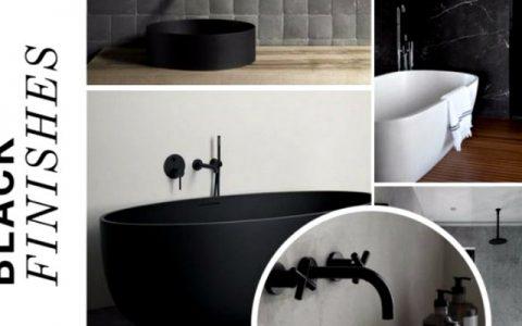 black bathroom designs Black Bathroom Designs Are The Hottest On Social Media! Black Bathroom Designs Are The Hottest On Social Media capa 480x300