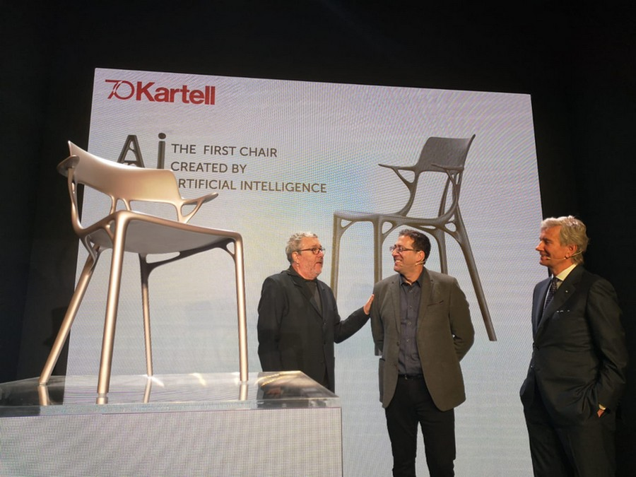 Kartell and Philippe Starck Created The First A.I. Chair Design kartell Kartell and Philippe Starck Created The First A.I. Chair Design Kartell and Philippe Starck Created The First AI Chair Design 2