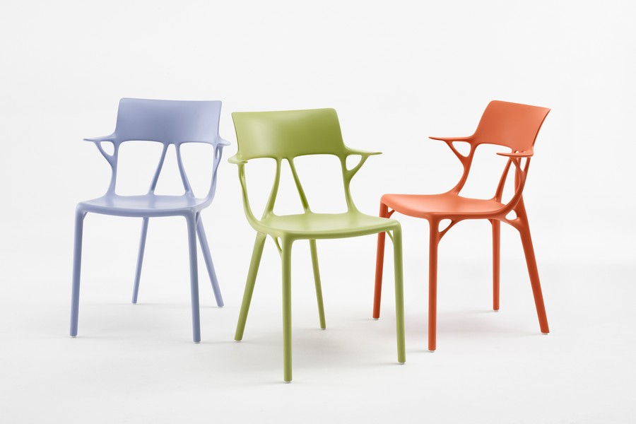 Kartell and Philippe Starck Created The First A.I. Chair Design kartell Kartell and Philippe Starck Created The First A.I. Chair Design Kartell and Philippe Starck Created The First AI Chair Design 3