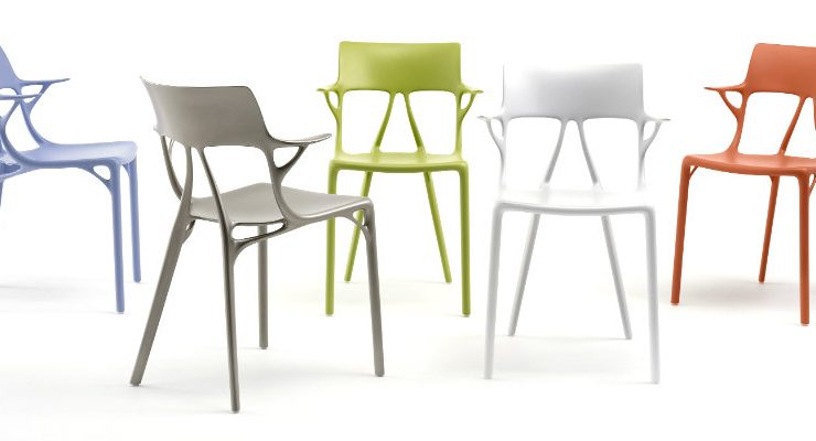 kartell Kartell and Philippe Starck Created The First A.I. Chair Design Kartell and Philippe Starck Created The First AI Chair Design capa 740x400  Home Kartell and Philippe Starck Created The First AI Chair Design capa 740x400