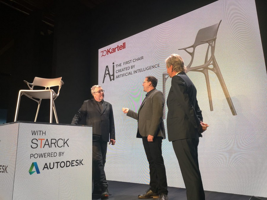 Kartell and Philippe Starck Created The First A.I. Chair Design kartell Kartell and Philippe Starck Created The First A.I. Chair Design Kartell and Philippe Starck Created The First AI Chair Design