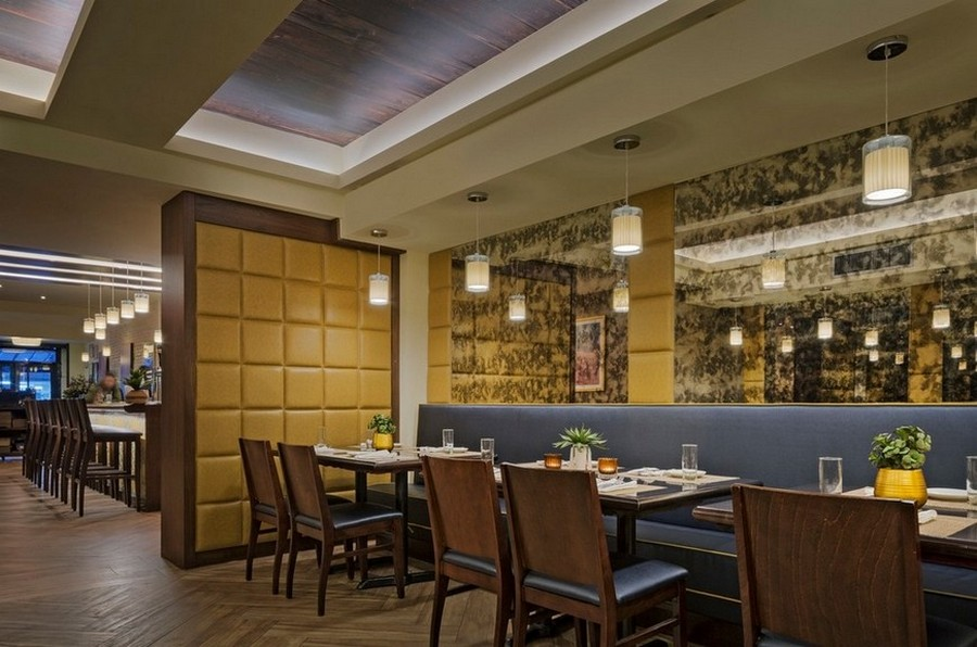 See DiGuiseppe Design Contemporary Interiors For A NYC Restaurant