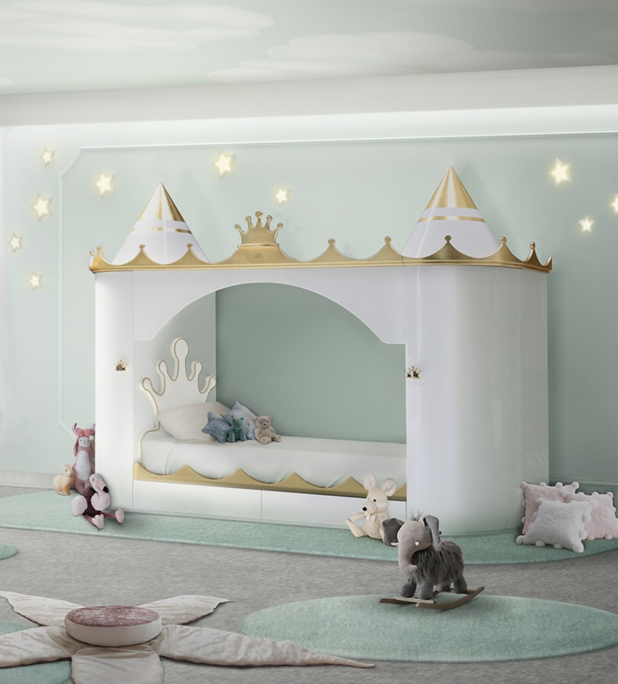 Kids Bedroom Trends - Learn How To Create A Princess Bedroom Design